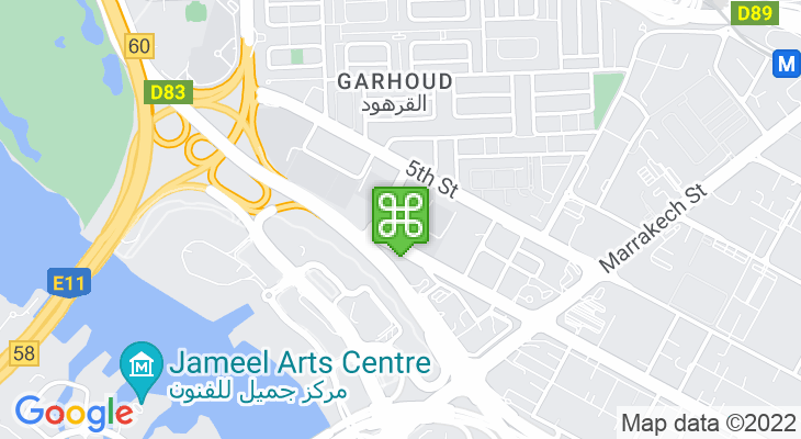 Map showing location of Cambridge International School