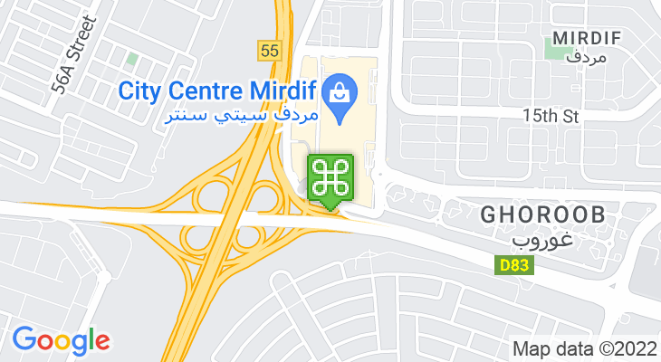 Map showing location of VOX Cinemas City Centre Mirdif