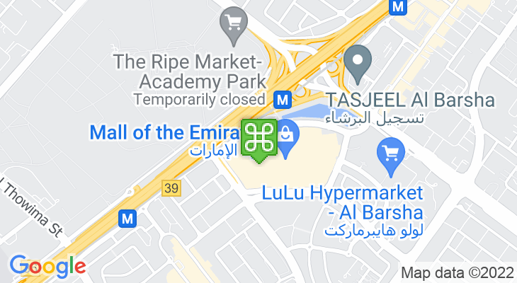 Map showing location of VOX Cinemas Mall of the Emirates