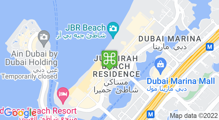 Map showing location of Roxy Cinemas The Beach