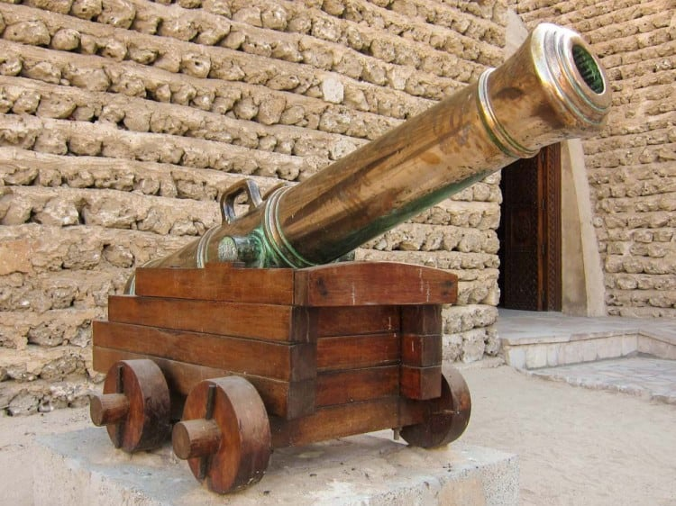 Cannon at the Dubai Museum
