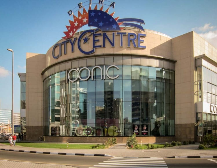 City Centre Deira Mall Shops Hotel Map Restaurants
