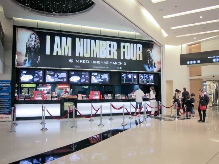 Dubai Marina Mall Shops Stores Hotel Cinema