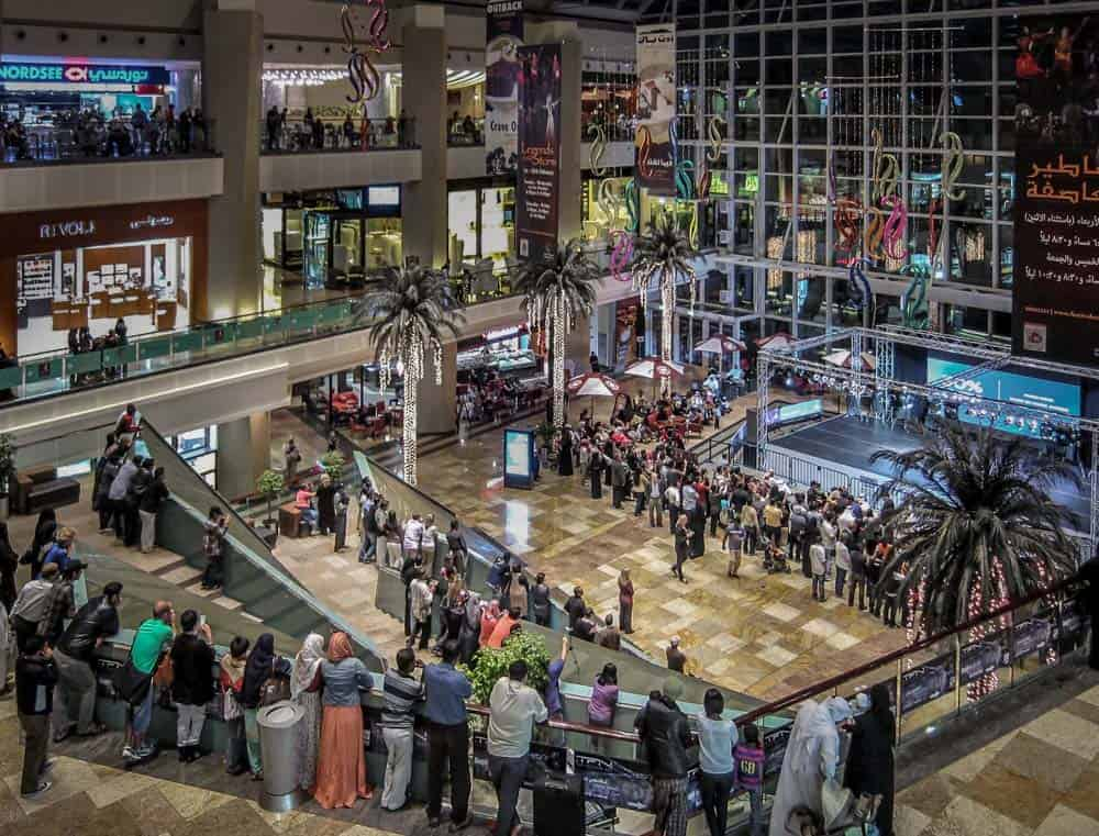Entertainment at Dubai Festival Centre Mall