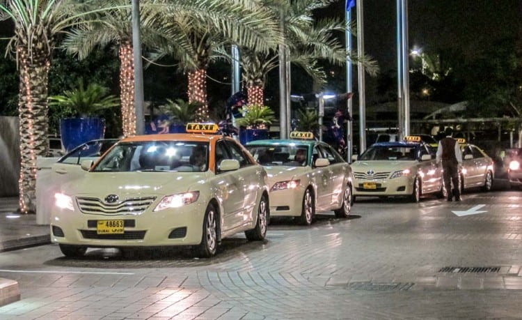 Taxi Rank, Dubai Festival City