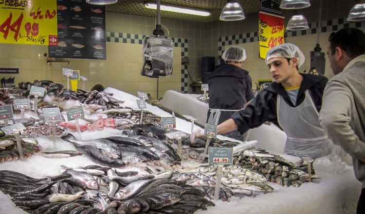 Fishmonger, Carrefour, Mall of the Emirates