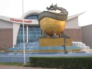 Dragonmart Chinese discount shopping centre at International City in Dubai