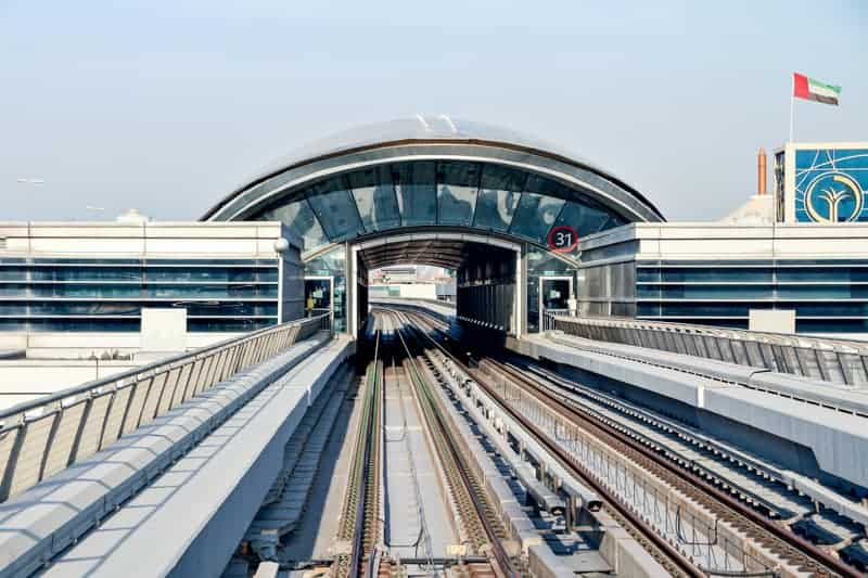 First Abu Dhabi Bank Metro Station, Dubai