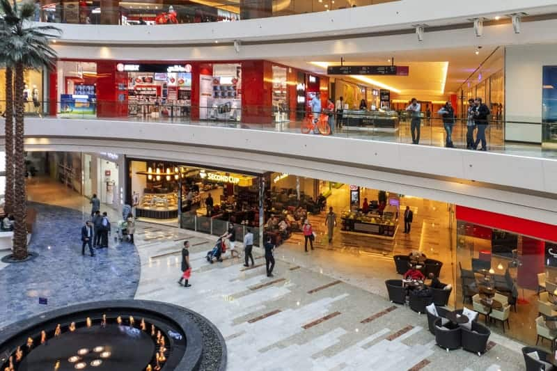 Al Ghurair Centre shopping mall in Dubai