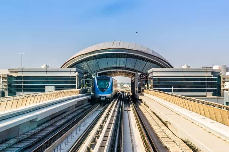 Noor Bank Metro Station, Dubai