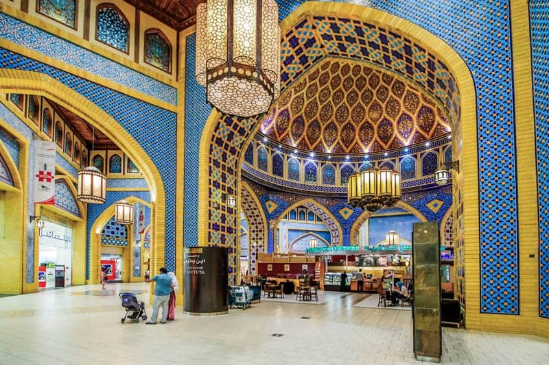 Cafe at Ibn Battuta Mall, Dubai