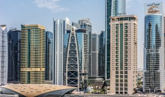 Jumeirah Lakes Towers Metro Station, Dubai