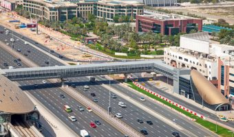 Business Bay Metro Station, Dubai