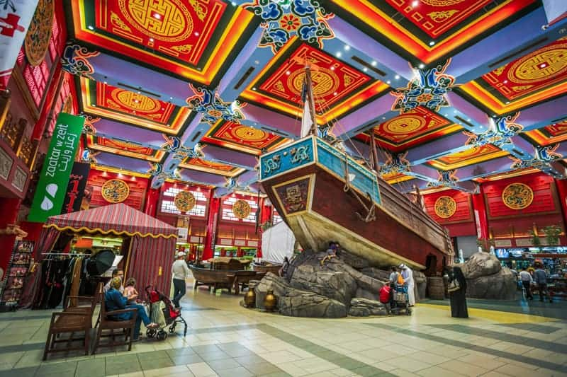 Chinese junk at China Court, Ibn Battuta Mall, Dubai