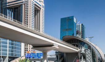 World Trade Centre Metro Station, Dubai
