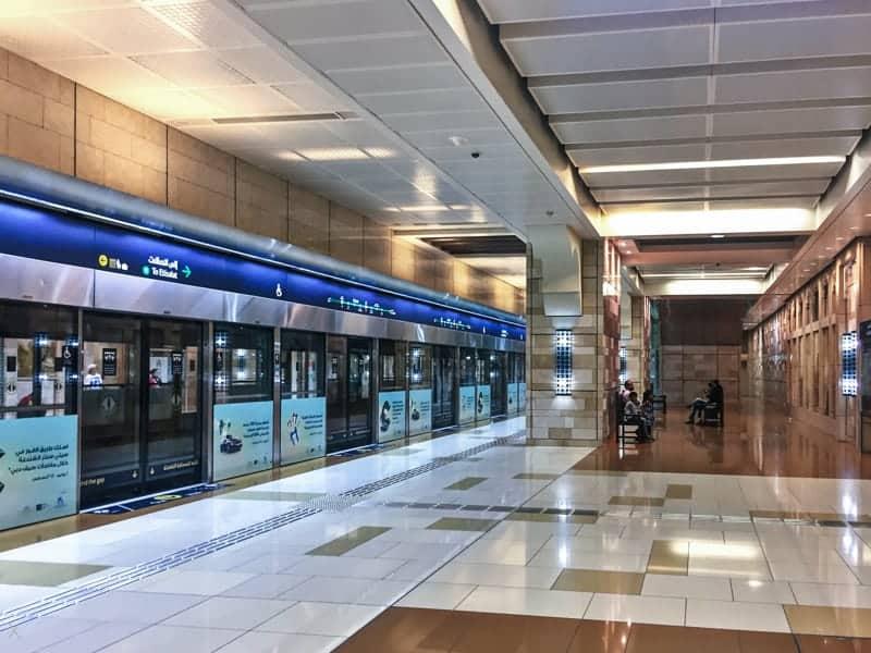 Al Ghubaiba Metro Station, Dubai