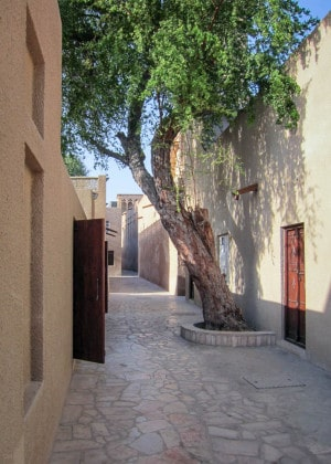 Alley in the Bastakia Quarter, Bur Dubai