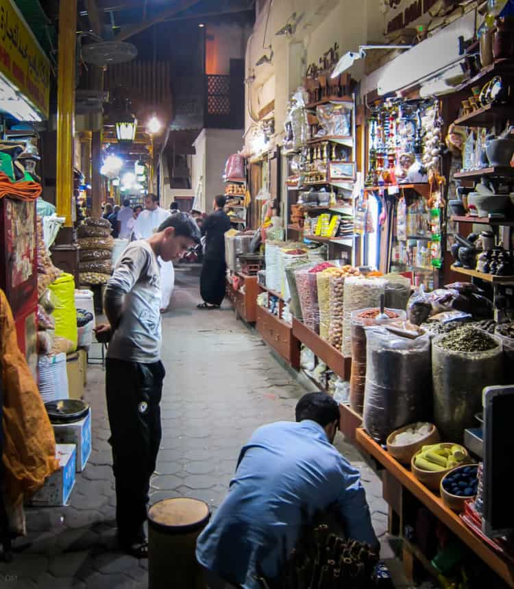 Traders at the Spice Souk, Dubai