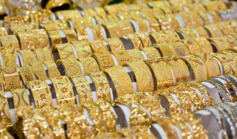 Jewellery In The Gold Souk Dubai