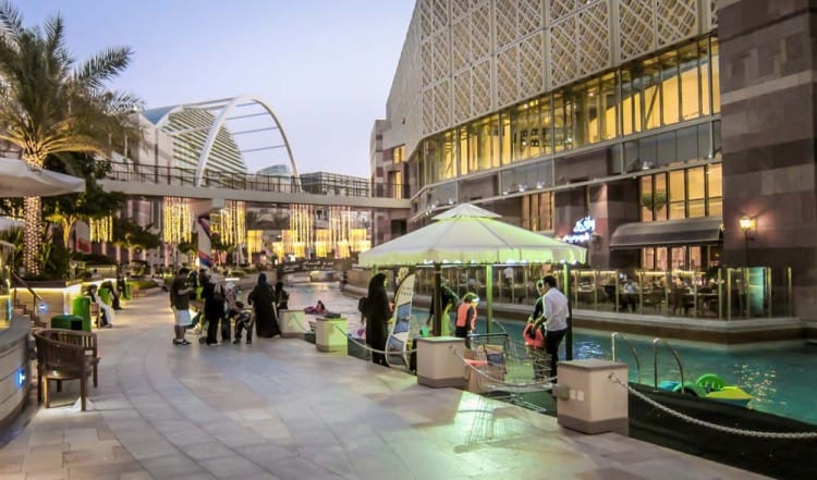 Canal Walk at Dubai Festival City