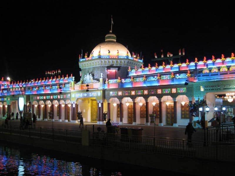 Indian Pavilion at Global Village in Dubai