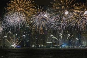 Firework Display - UAE National Day - One of the most popular public holidays in Dubai