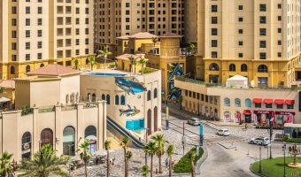 The Walk and JBR towers