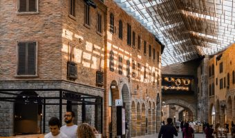 The Outlet Village shopping mall in Jebel Ali, Dubai