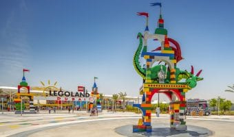 Entrance to LEGOLAND Dubai