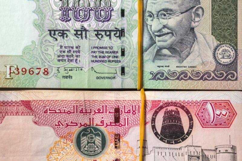 Aed To Inr Exchange Rate Today Convert Dirham To Indian Rupees