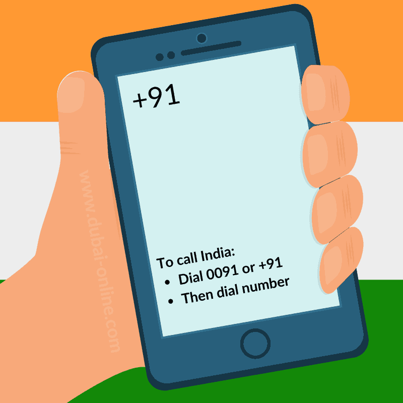 0091 +91 India Country Code