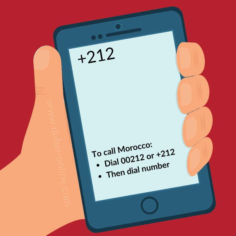 00212 +212 Morocco Country Code