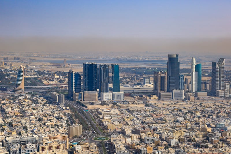 View of Satwa and Sheikh Zayed Road